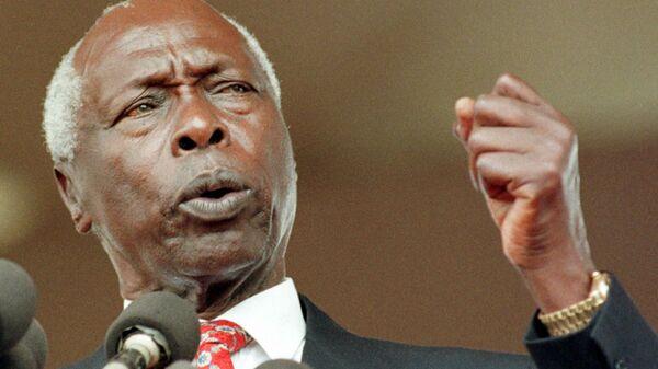 Бывший президент Кении Дэниэл арап Мои