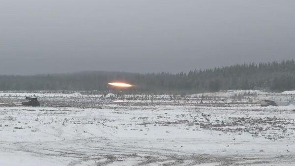 Видео стрельб тяжелых огнеметных систем Солнцепек