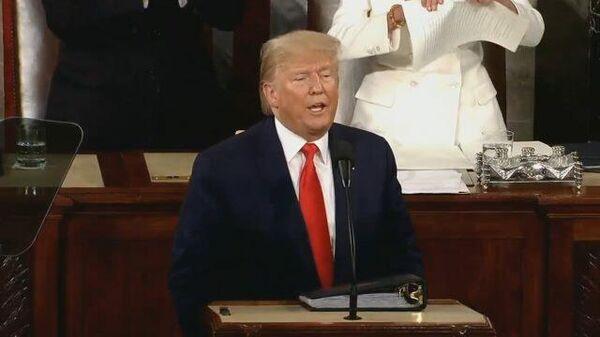 Высокие отношения: спикер Пелоси порвала копию речи Трампа сразу после его выступления
