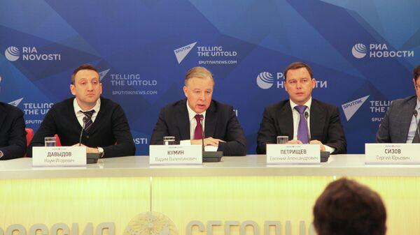 Пресс-конференция в Международном мультимедийном пресс-центре МИА Россия сегодня на тему: Коронавирус: последствия для российско-китайского туризма