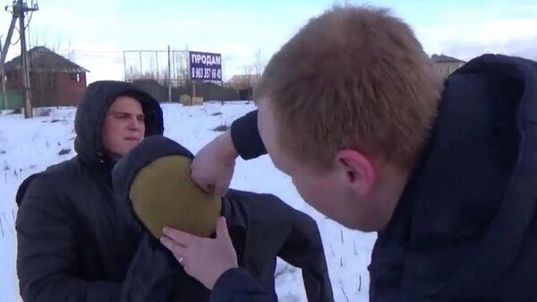 Следственный эксперимент с участием бывшего сотрудника Полиции Вологодской