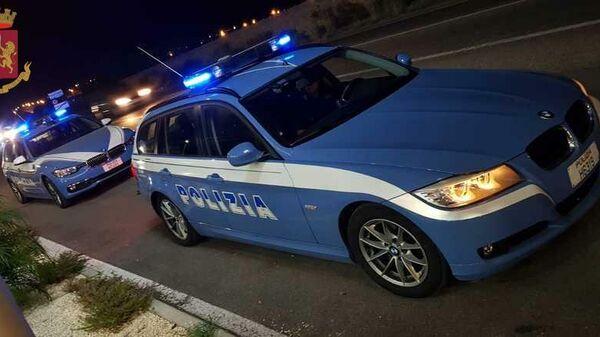 Автомобили итальянской полиции