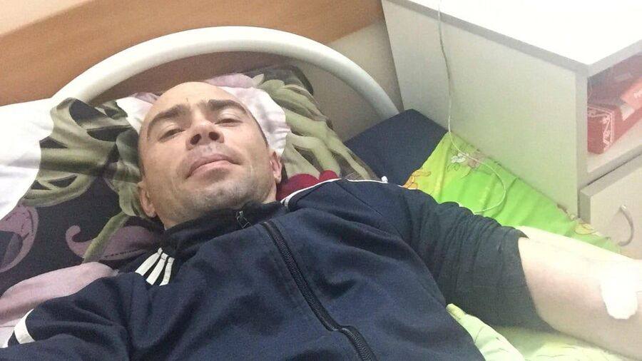 Роман Неугодов в больнице