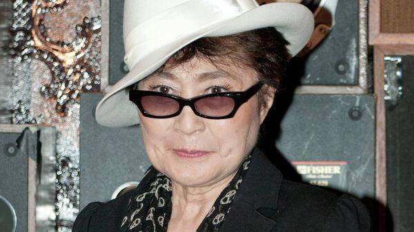 Художница и певица Йоко Оно