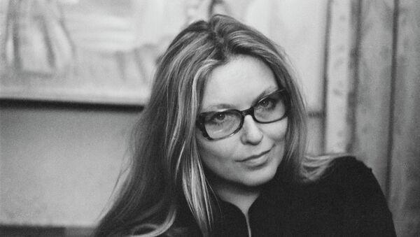 Французская актриса кино, театра Марина Влади. Архивное фото
