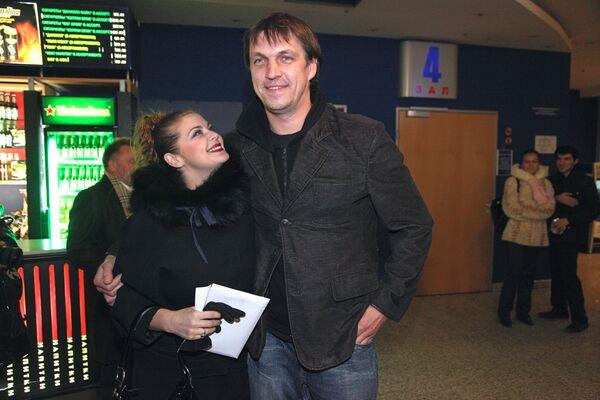 Актеры Ирина Пегова и Дмитрий Орлов