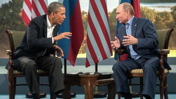 Путин и Обама увлеклись разговором о Сирии на G20, считает Белый ... | 340x600