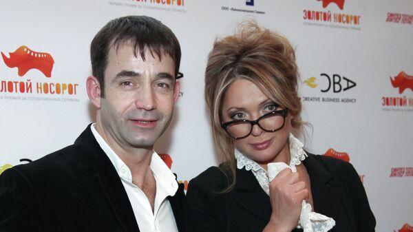Актеры Дмитрий Певцов и Ольга Дроздова