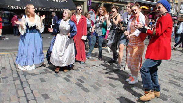 Фестиваль искусств Fringe в Эдинбурге