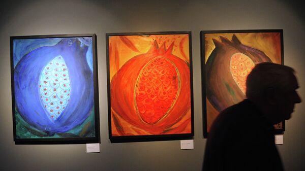 Открытие выставки Резо Габриадзе. Живопись, графика, скульптура