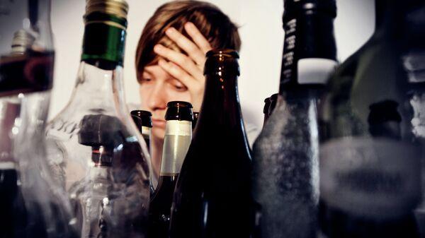 Алкоголизм. Архивное фото