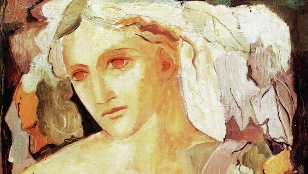 Мария Лагорио. Кибела, богиня Земли. 1936, холст, масло