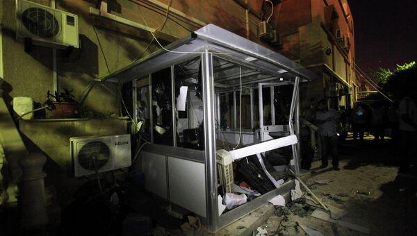 Последствия разгрома офиса частной телекомпании в Бенгази