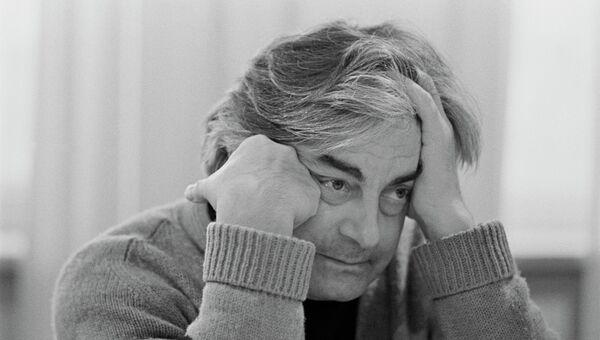 Художественный руководитель Театра на Таганке Юрий Петрович Любимов