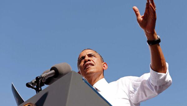 Выступление Барака Обамы в Ричмонде