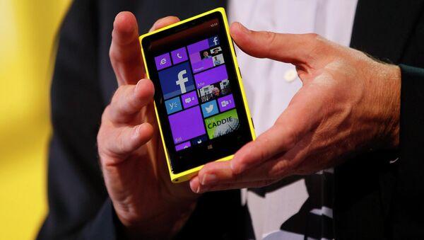 Телефон Nokia. Архивное фото