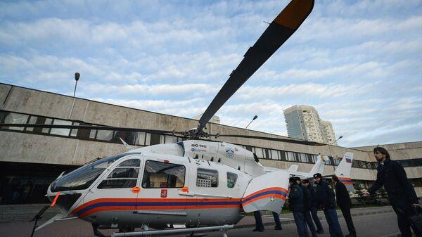Презентация вертолета Bell-429EMS