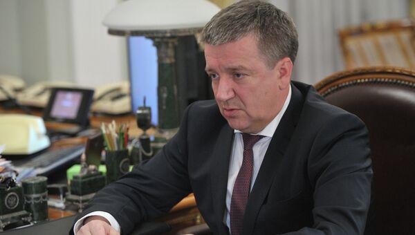 Глава Карелии Александр Худилайнен. Архивное фото