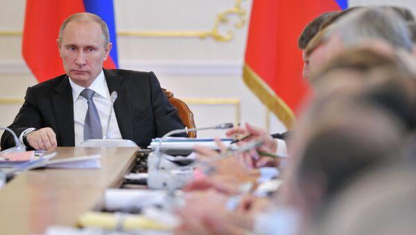 В.Путин провел заседание Совета при президенте РФ по спорту