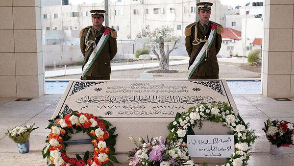 Могила Ясира Арафата. Архивное фото