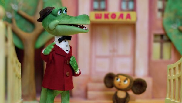 Мультфильм Крокодил Гена. Архивное фото