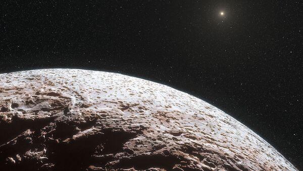 Карликовая планета в представлении художника. Архивное фото