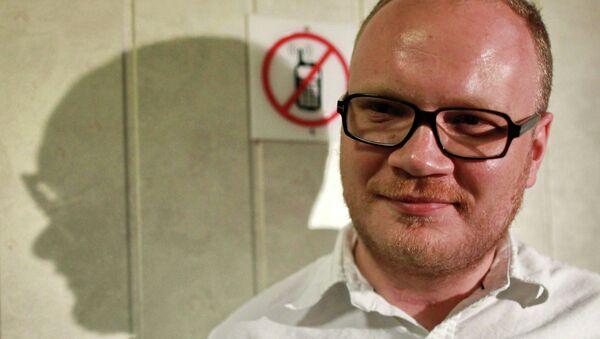 Журналист Олег Кашин. Архивное фото