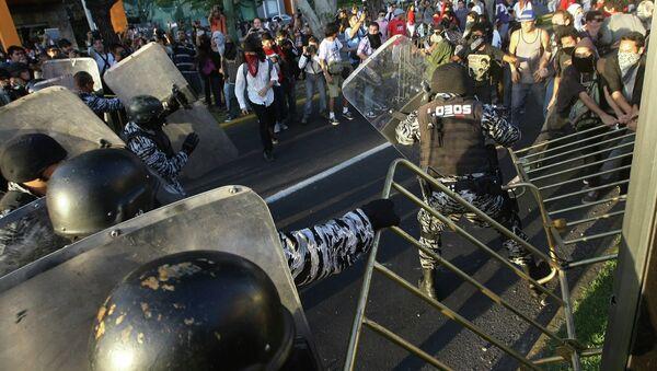 Акции протеста в Мексике