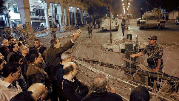 Акция оппозиции в Каире