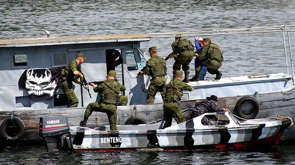 Российско-индонезийские антипиратские учения в мае 2011 года