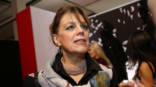 Оперная певица Любовь Казарновская