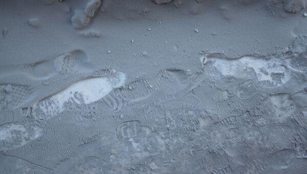 Черный снег в Омске. Архивное фото