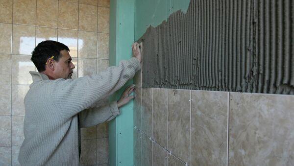 Капитальный ремонт здания. Архивное фото