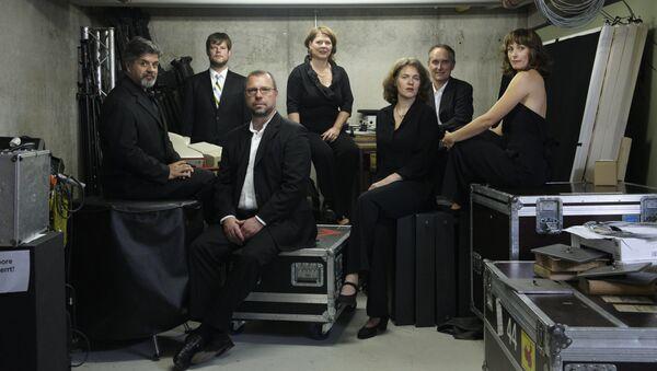 Участники немецкого ансамбля Neue Vocalsolisten Stuttgart