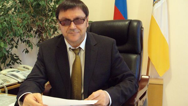 Первый заместитель председателя правительства края Виктор Шурупов