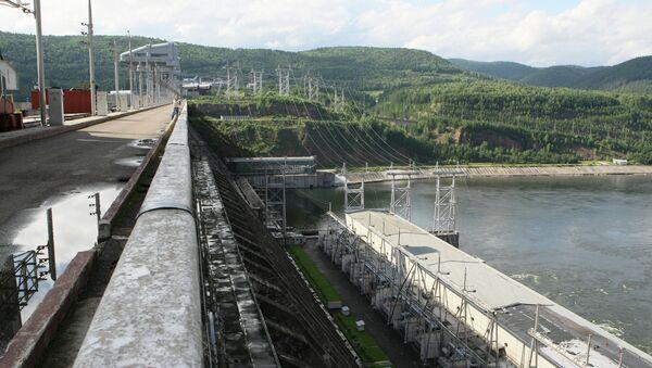 Красноярская ГЭС. Архив