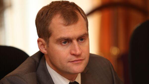 Первый заместитель губернатора Псковской области Сергей Перников