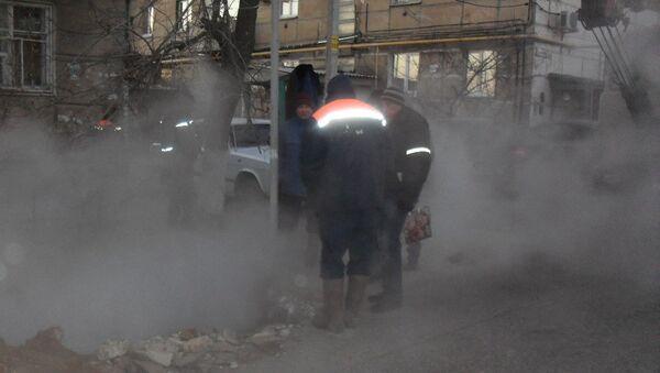 Около пяти тысяч жителей Волгограда остались без тепла из-за аварии