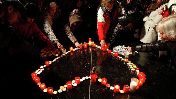 Чехи почтили память Вацлава Гавела