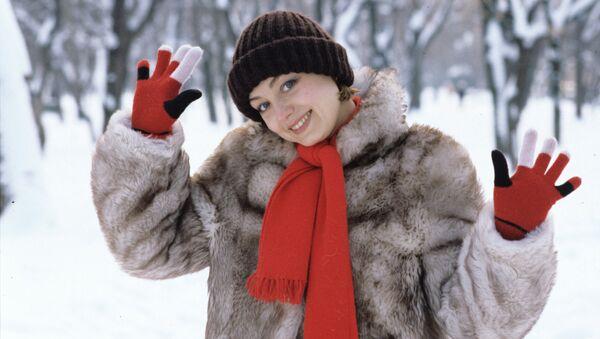 Актриса Елена Юрьевна Шанина. Архивное фото