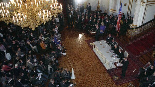 Подписание Договора о дальнейшем сокращении стратегических наступательных вооружений (СНВ-2). 3 января 1993 года