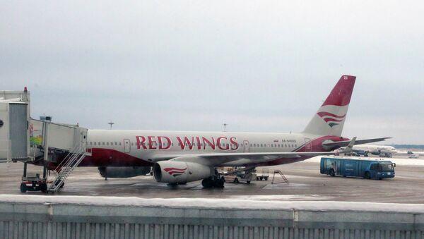 Самолет авиакомпании Red Wings. Архив