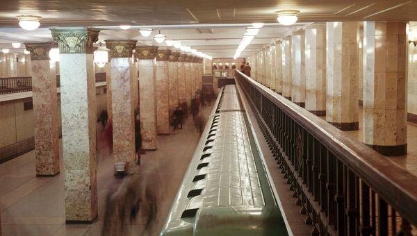 Станция метро Комсомольская-радиальная. Архивное фото