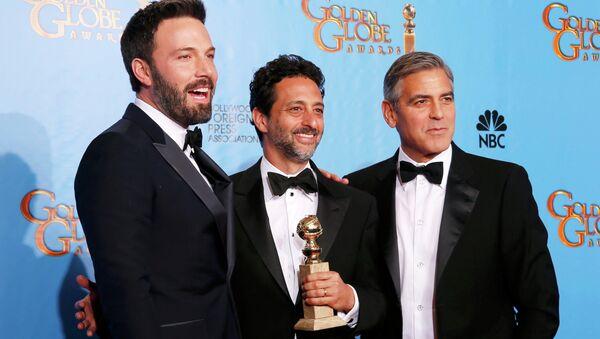 Бен Аффлек удостоен статуэтки Золотой глобус как лучший режиссер за фильм Операция Арго