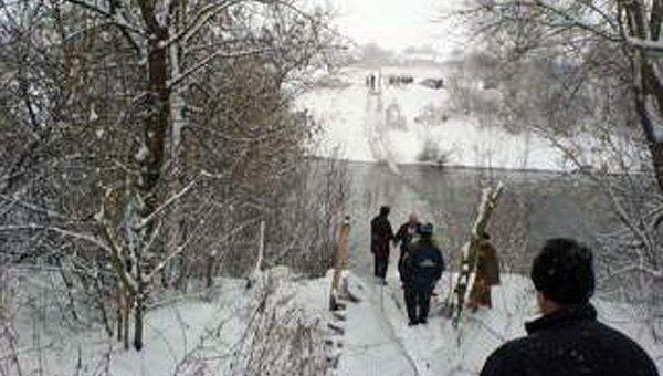 Мост через Оку обрушился под Орлом