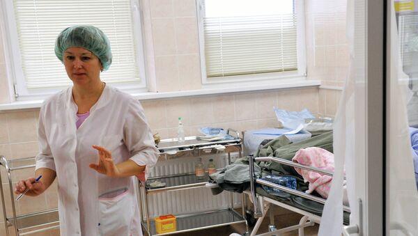 Работа больницы, архивное фото