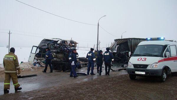 Автобус с паломниками попал в ДТП под Самарой