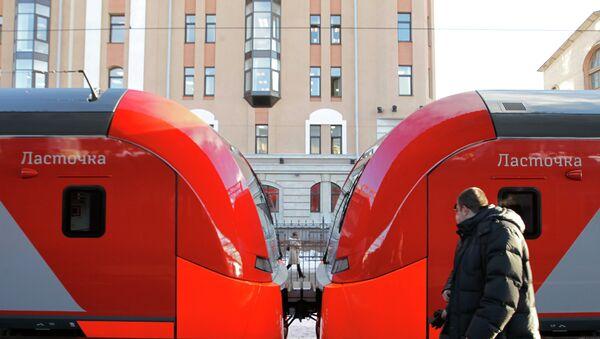 Скорый поезд Ласточка отправился в первый рейс. Архивное фото