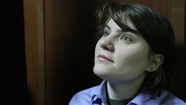 Участница панк-группы Pussy Riot Екатерина Самуцевич в Мосгорсуде, архивное фото