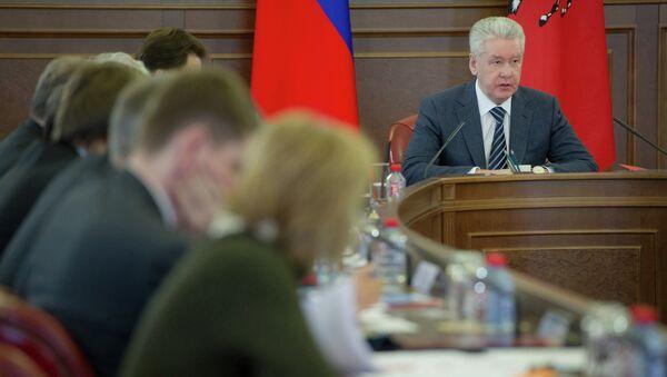 С.Собянин провел ряд мероприятий 25 января 2013 г.